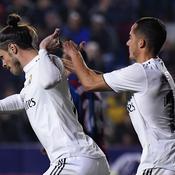 Le Real Madrid s'impose dans la douleur à Levante