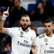 Quatre à la suite pour le Real Madrid, Benzema buteur