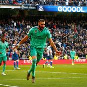 Avec un Benzema toujours au top, le Real ne faiblit pas