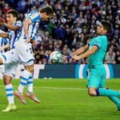 La Real Sociedad freine Barcelone avant le Clasico