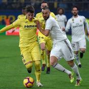Le Real Madrid reste hors du podium