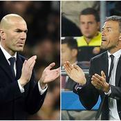 Luis Enrique-Zinédine Zidane, prêts pour leur «clash»ico