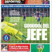 Mascherano 1-Messi 502