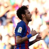 Neymar se met à plagier Antoine Griezmann quand il marque...