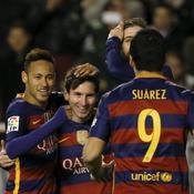 Triplé de Messi, cinq buts: ce Barça entre un peu plus dans l'histoire