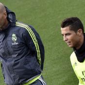 Ronaldo sous le charme de Zidane, un entraîneur avec «beaucoup de charisme»
