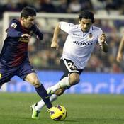 Valence tient tête au Barça