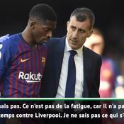 Valverde sur la blessure de Dembélé : «Je n'ai pas d'explication»