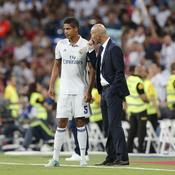 Raphel Varane et Zinedine Zidane