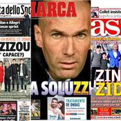 Zidane au Real : ce qu'en pense la presse étrangère