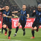 L'Inter domine le derby milanais et monte sur le podium