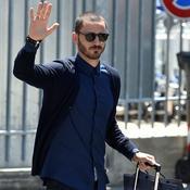 Accueil triomphal pour Bonucci à Milan