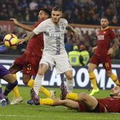 L'Inter et la Roma se neutralisent, Milan grimpe