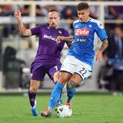 Naples a le dernier mot face à la Fiorentina de Ribéry