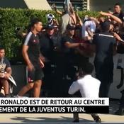Terminé pour les vacances, Ronaldo de retour aux affaires avec la Juve