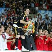 Iker Casillas et l'Espagne championne d'Europe