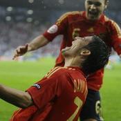 David Villa Espagne Euro 2008