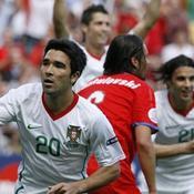 Deco Portugal République tchèque Euro 2008