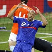 Thierry Henry France Pays-Bas Euro 2008