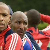 Nicolas Anelka Thierry Henry France Euro 2008