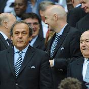 Michel Platini - Joseph Blatter