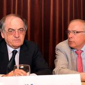 Noël Le Graët et Bernard Desumer