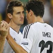 Miroslav Klose - Mario Gomez