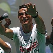 Cristiano Ronaldo remercie le Portugal