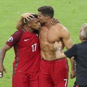 Euro 2016 : Ronaldo a offert son trophée de Soulier d'Argent à Nani