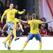 Ibrahimovic envoie la Suède à l'Euro