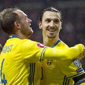 Ibrahimovic se félicite d'avoir «poussé tout le Danemark à la retraite»