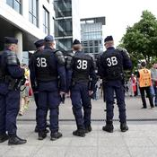La menace terroriste et les grèves ont plané sur le Stade de France