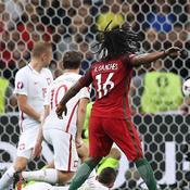 Le superbe but de Renato Sanches qui le fait entrer dans l'histoire de l'Euro