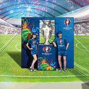 Le trophée de l'Euro 2016 sera en tournée en France