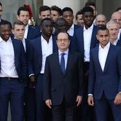 Les Bleus «touchés par le discours» de François Hollande