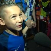 Noa, fils de Dimitri Payet : «Mon papa il fait les meilleurs coups francs du monde»