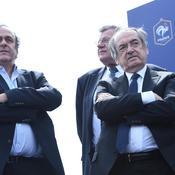 Platini, Le Graët et Deschamps, le ticket perdant du tirage de l'Euro 2016