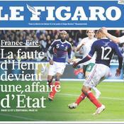 Les archives du Figaro: Pourquoi la Fifa ne peut pas faire rejouer France-Eire
