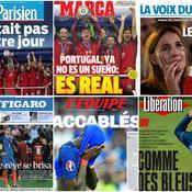 «Rêve brisé», «Accablés»: la presse revient sur la défaite cruelle des Bleus