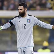 Tiens, revoilà Salvatore Sirigu avec l'Italie