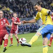 Un petit pas vers la France pour la Suède d'Ibrahimovic