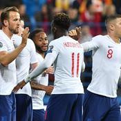 L'Angleterre se régale face au Monténégro