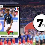 Les notes des Bleus : Coman a tout cassé, Giroud (trop) discret