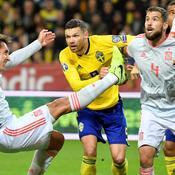 Qualifiée, l'Espagne s'est néanmoins fait peur en Suède