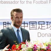 Beckham va éduquer la jeunesse chinoise au football