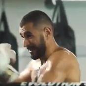 Karim Benzema s'entraîne à boxer avec Booba