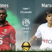 Rennes-Marseille en direct