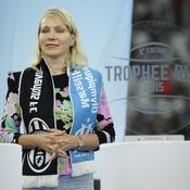 A 53 ans, Margarita Louis-Dreyfus attend des jumelles