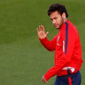 A l'entraînement, Neymar se sent «bien» et «à l'aise» avec le ballon