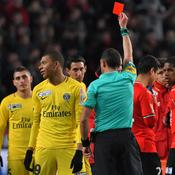 Après sa vilaine semelle à Rennes, Mbappé suspendu deux matches